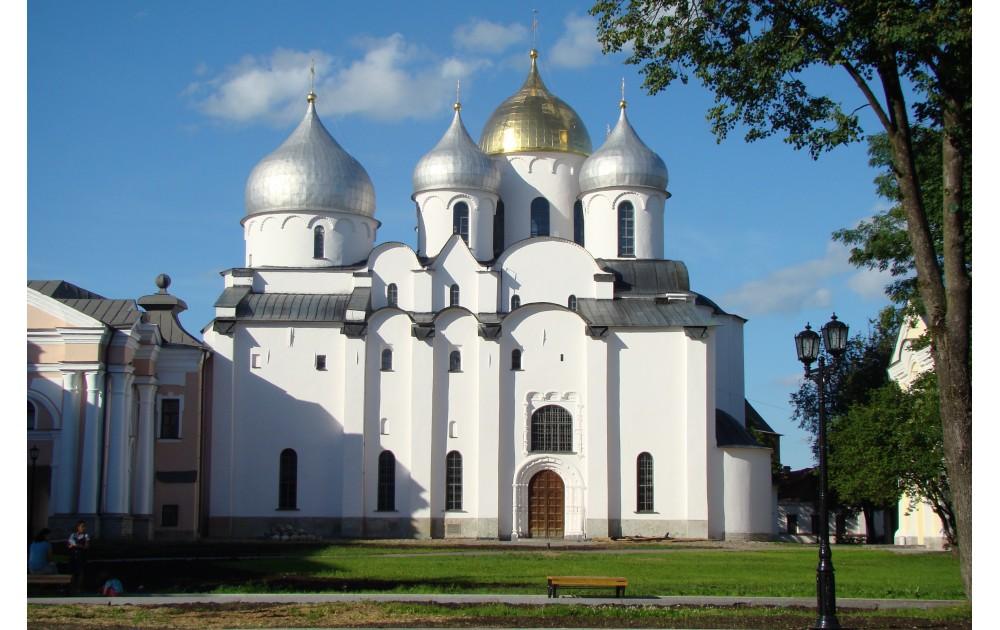 Великий Новгород (кремль и кораблик)